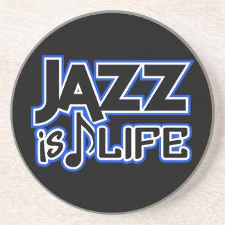 ジャズは生命カスタムのコースターです コースター