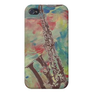 ジャズサクソフォーン iPhone 4 ケース