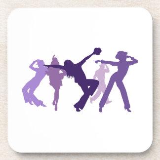 ジャズダンサーの絵 コースター