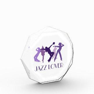 ジャズダンサーの絵 表彰盾