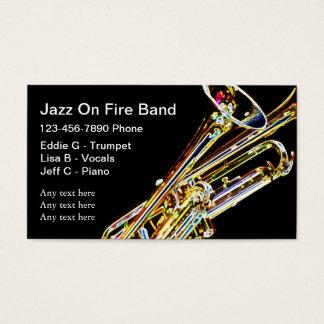 ジャズバンドの名刺 名刺