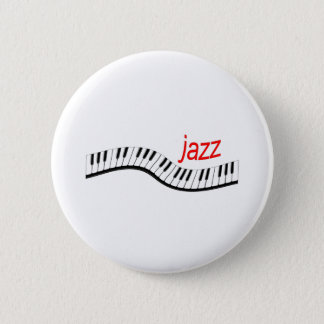 ジャズピアノ 缶バッジ