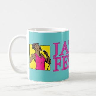 ジャズフェスティバル、歌手 コーヒーマグカップ