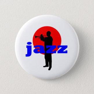 ジャズプレーヤー 缶バッジ