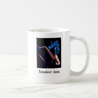 ジャズ収穫されるちょうどSmokin Smokinジャズ コーヒーマグカップ
