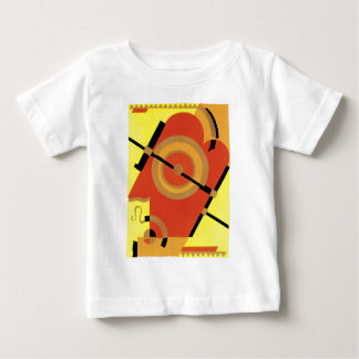 ジャズ年齢のアール・デコの抽象芸術 ベビーTシャツ