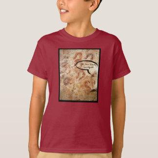 ジャズ洞窟手 Tシャツ
