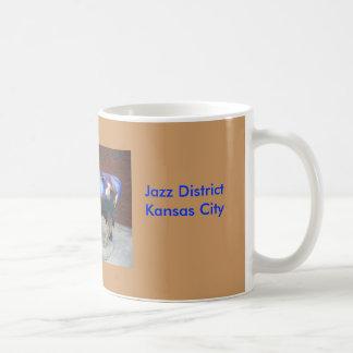 ジャズ牛マグ-カンザスシティ コーヒーマグカップ