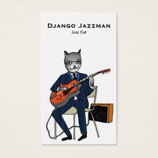 ジャズ猫の名刺 名刺