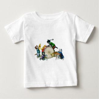 ジャズ猫 ベビーTシャツ