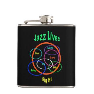 ジャズ生命 フラスク