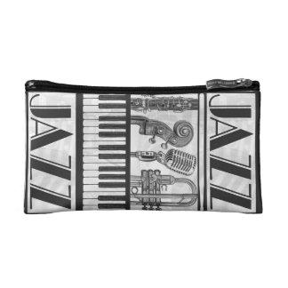 ジャズ音楽の楽器の化粧品のバッグ コスメティックバッグ