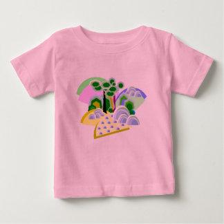 ジャズ風のヴィスタの物語の土地T ベビーTシャツ