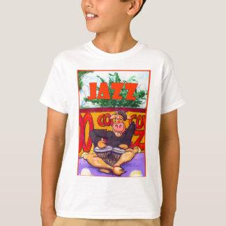 ジャズ風牛 Tシャツ