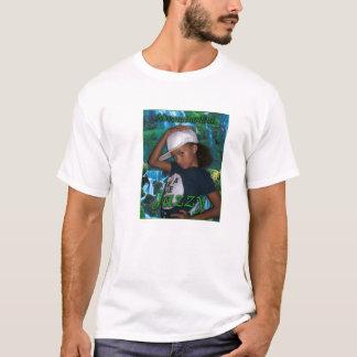 ジャズ風Nevaの分隊小さいジャズ風の緑の背部 Tシャツ