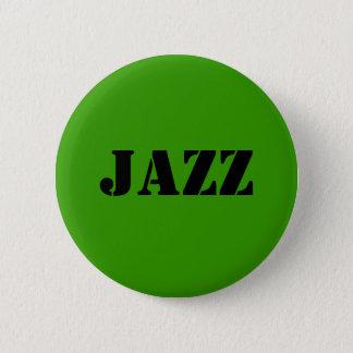 ジャズ   ボタン 缶バッジ