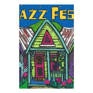 ジャズfestの家 便箋