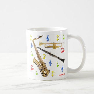 ジャズJAMMINのジャズJAMMIN コーヒーマグカップ