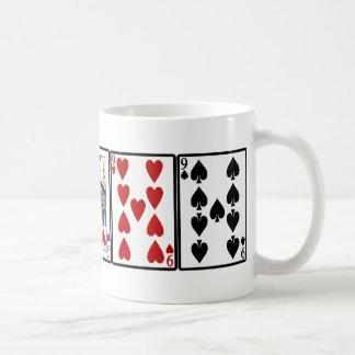 ジャッキおよびNinesのマグ コーヒーマグカップ