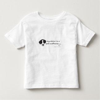 ジャッキのラッセルテリア トドラーTシャツ