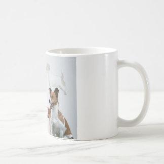 ジャッキのラッセル友人の詩のマグ コーヒーマグカップ