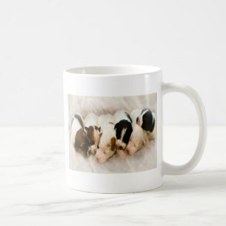 ジャッキのラッセル子犬 コーヒーマグカップ
