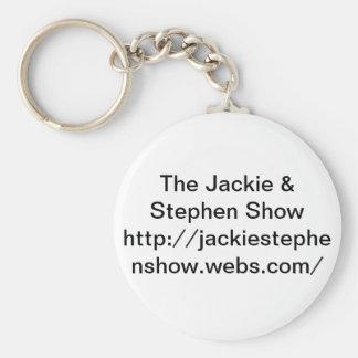 ジャッキーおよびスティーブンショーのkeychain キーホルダー