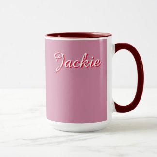 ジャッキーの信号器のマグ マグカップ
