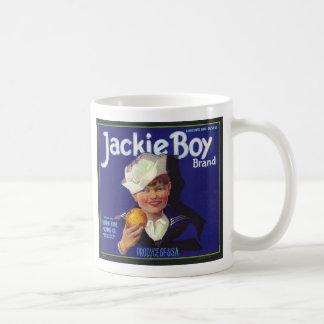 ジャッキーの男の子 コーヒーマグカップ