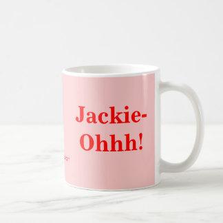 ジャッキーOhhh! コーヒーマグカップ