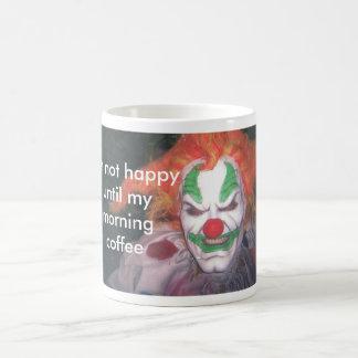 ジャッキ、私はmymorningコーヒーまで幸せではないです モーフィングマグカップ