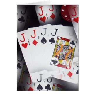 ジャッキ、_Greeting_Card. カード