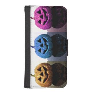 ジャッキo'のランタン iPhoneSE/5/5sウォレットケース
