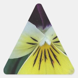 ジャックおよびジル 三角形シール
