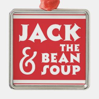 ジャックおよび豆のスープ メタルオーナメント