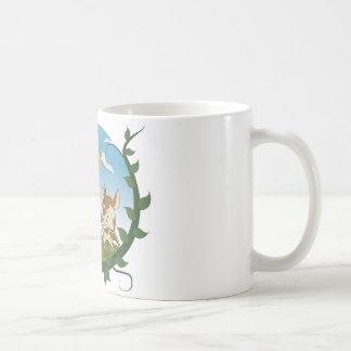ジャックおよび豆の茎 コーヒーマグカップ