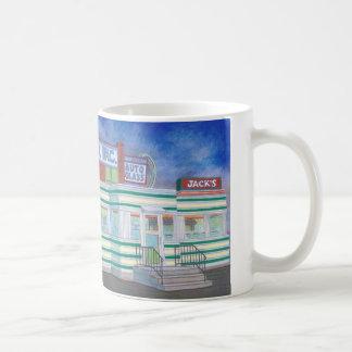 ジャックのダイナー コーヒーマグカップ