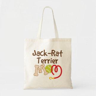 ジャックのラットテリア犬の品種お母さんのギフト トートバッグ