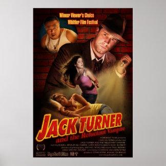 ジャックターナーおよび好まない吸血鬼 ポスター