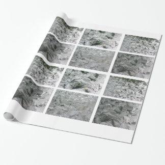 ジャックフロスト白黒包装紙 ラッピングペーパー