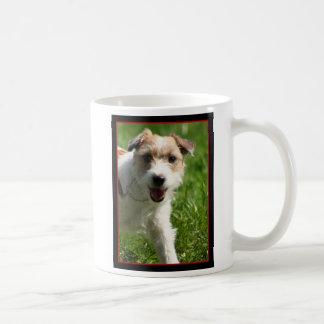 ジャックラッセルテリアのマグ コーヒーマグカップ