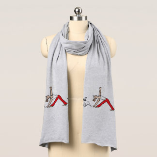 ジャックラッセルテリアの三色のヨガのスカーフ スカーフ