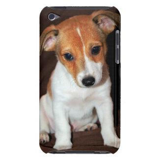 ジャックラッセルテリアの小犬のiTouchの場合 Case-Mate iPod Touch ケース