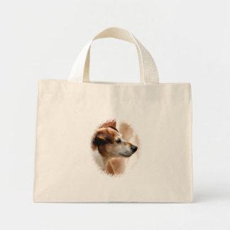 ジャックラッセルテリア犬 ミニトートバッグ