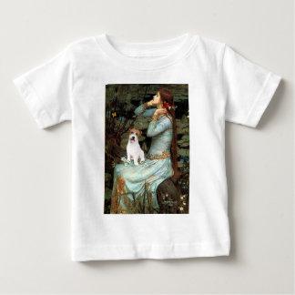 ジャックラッセル11 -着席するオフェリア ベビーTシャツ