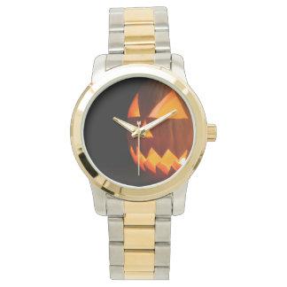 ジャックランタン(ハロウィンのカボチャ)の~ 腕時計