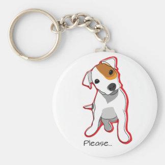 """ジャック甘いラッセルの子犬"""""""" Keychain キーホルダー"""
