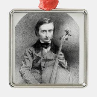 ジャック・オッフェンバック1850年のポートレート メタルオーナメント