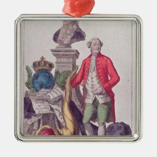 ジャック・ネッケル1789年7月16日の呼出し メタルオーナメント