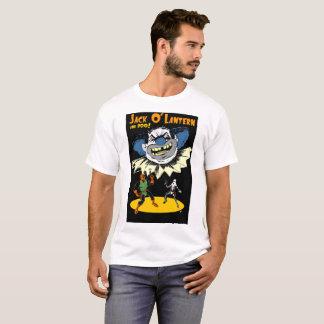ジャックOのランタンおよびブーイングは臭い青いピエロに会います Tシャツ